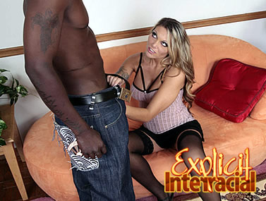 Anna Nova's Interracial Surprise