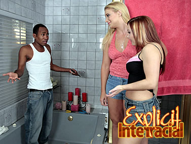 Heidi and Katja's Interracial Movie